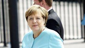 Summit NATO ve Varšavě: Angela Merkelová