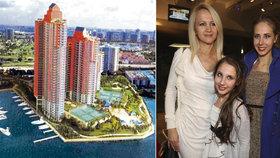 Šárka Grossová s dcerami:  Na Floridě má Natálka i kluka!