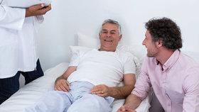 Jednou nohou v hrobě: Čeští muži zanedbávají onkologickou prevenci