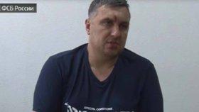 Krize na Krymu: Ruská média zveřejnila video s přiznáním údajného záškodníka
