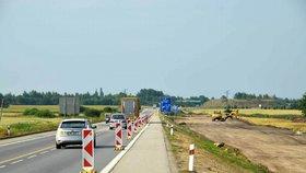 Stavba dálnice D3 v úseku Veselí nad Lužnicí – Bošilec