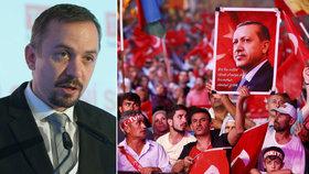 Kalouskova pravá ruka: Turci nás potřebují víc než my je. Nepoklonkujme