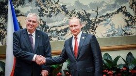 Zeman a 120 firem: Do Ruska vyrazí rekordní výprava, na prezidenta pak čeká Putin