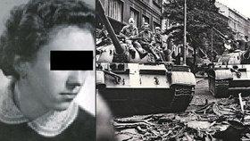 Na pražském Klárově jsou pomníčky tří zastřelených: Marii zabil sovětský okupant!