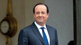 Francouzi rozdali politikům ceny za humor. Vyhrál bývalý prezident Hollande