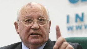 Bývalý sovětský prezident Gorbačov po 17 letech navštíví Prahu.