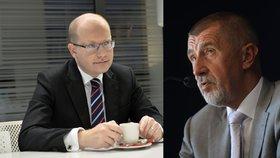 Babiš tepe Sobotku: Za 20 let pro Romy nic neudělal. Jedu do Let, vepřín končí
