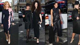 Poslední přehlídka Fashion Weeku připomínala pohřeb: Jen Geislerová bodovala