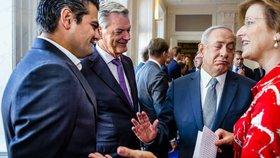 Nizozemský politik odmítl potřást ruku Netanjahuovi. Izraelce odbyl za Palestinu