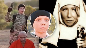 Modrooký džihádista (†12) je mrtvý: Zemřel při náletu s matkou, která mu vymyla mozek