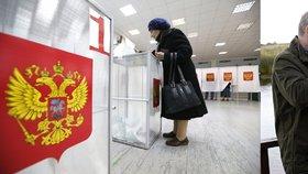 Rusové volí nový parlament. Putinovi věrné Jednotné Rusko je jasný favorit
