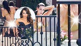 Zlato, pojď na to! Kim Kardashian ukázala nahý zadek i bradavku