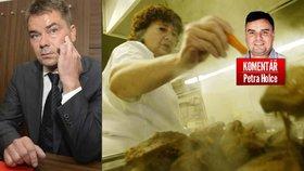 Komentář: Hovězí na kapustě a romský boss. Nelitujme Dalíka, ale naši justici