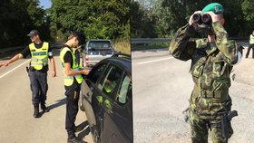 Cvičení na hranicích se Slovenskem: Neproklouzla by ani myš