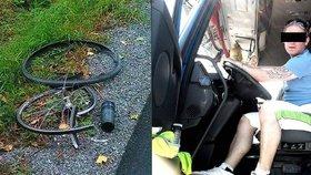 Šedesátiletý cyklista zemřel na Tachovsku po střetu s autem. Auto údajně řídil Jaroslav Z.