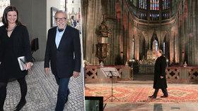 Gott před prvním koncertem po rakovině zašel do kostela! Obrátil se k Bohu?