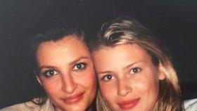 Tereza Maxová překvapila fotkou z archivu: S Peštovou se vůbec nezměnily!