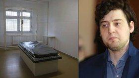 Tady ležel čtyřnásobný vrah Dahlgren: Blesk navštívil psychiatrické oddělení věznice v Brně