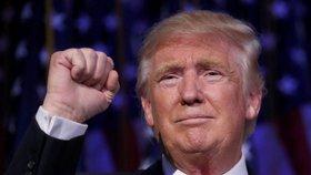 Novým prezidentem USA byl zvolen Donald Trump.