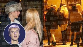 Svůdník Justin Bieber v Praze: Sbalil 6 dívek v baru a vzal si je na hotel!