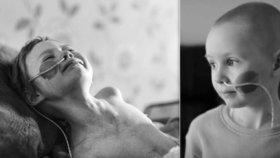 Dívenka (†4) zemřela na rakovinu. Omlouvám se ti, že jsem tě neuchránil, vzkazuje táta do nebe