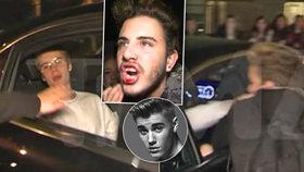 Justin Bieber zbil svého fanouška: Šokovaný chlapec skončil se zakrváceným obličejem