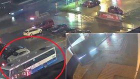 Řidič vjel s autobusem až k okénku Burger Kingu: Způsobil škodu za 100 000