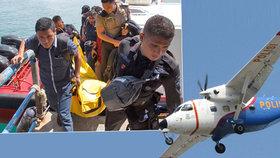Letadlo s policisty se zřítilo do moře: Záchranáři našli kusy těl