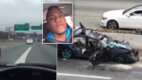 Šílenec (20) se řítil přes 180 km/h a natáčel si to: Po nehodě bojuje o život