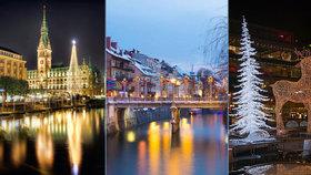 Objevte zimní kouzlo vánočních trhů: Navštivte Hamburg, Stockholm či Krakov