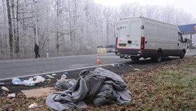 Chorvatská policie našla v jedné dodávce 67 migrantů, několik v bezvědomí.