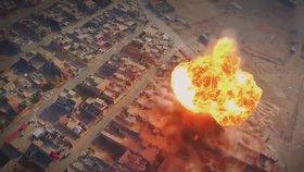 Výbuchy jsou v Mosulu na denním pořádku.