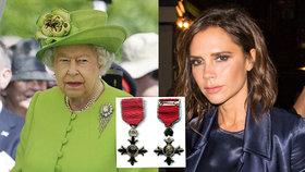 Victoria Beckham naštvala královnu! Prozradila, že od ní dostane řád