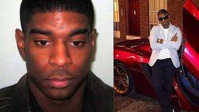 Anglický rapper Courtney Hutchinson si za brutální napadení mladé dívky odsedí 23 let ve vězení.