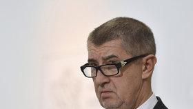 Vicepremiér Andrej Babiš (ANO) po schválení novely zákona o střetu zájmů