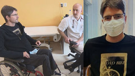 Zpověď ochrnutého moderátora Michala Jančaříka: Bude ještě někdy chodit?