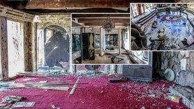 Tajemství opuštěného extravagantního domu striptýzového magnáta: Zmizel on i jeho žena, jejich dům je rájem vandalů.