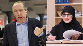 Soud o hidžáb? Šlo o zastrašování, tvrdí Václav Klaus mladší