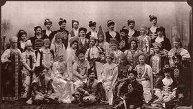 Poslední společná fotografie Romanovců