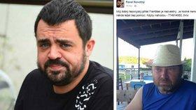 Zmizel těžce nemocný František z Řeporyjí: Najděte mi kamaráda, prosí Pavel Novotný
