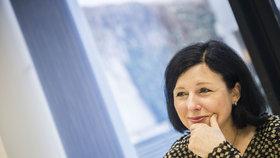 Eurokomisařka Věra Jourová (za ANO)