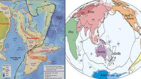 """Osmý světadíl zřejmě existuje. """"Je to Zélandie,"""" tvrdí geologové"""