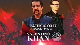 Valentino Khan míří poprvé do Prahy, společně s ním zahraje Curbi
