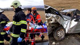 Veronika se vybourala se dvěma dětmi: Dcera Zorka (†2 měs.) vylétla po nárazu z auta a zemřela