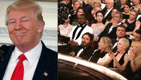Trump si rýpl do Oscarů: Smutné! Úřad pak smazal tweet s gratulací Íránci