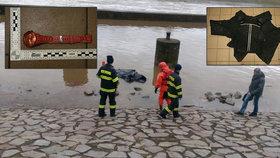 Policie zveřejnila obrázky oblečení, které měla utonulá žena na sobě.