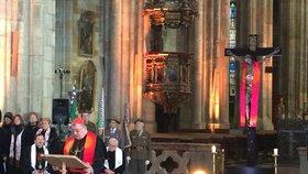 Festival Mene Tekel skončil nedělní bohoslužbou. Kardinál připomněl oběti komunismu