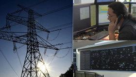 Dispečeři chrání českou přenosovou soustavu před kolapsem.