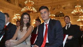 Talent roku Patrik Schick s přítelkyní