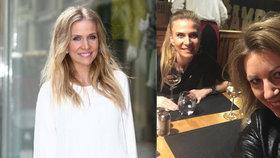 Michaela Ochotská po rozchodu s Rosolem: Úsměvy nad sklenkou vína!
